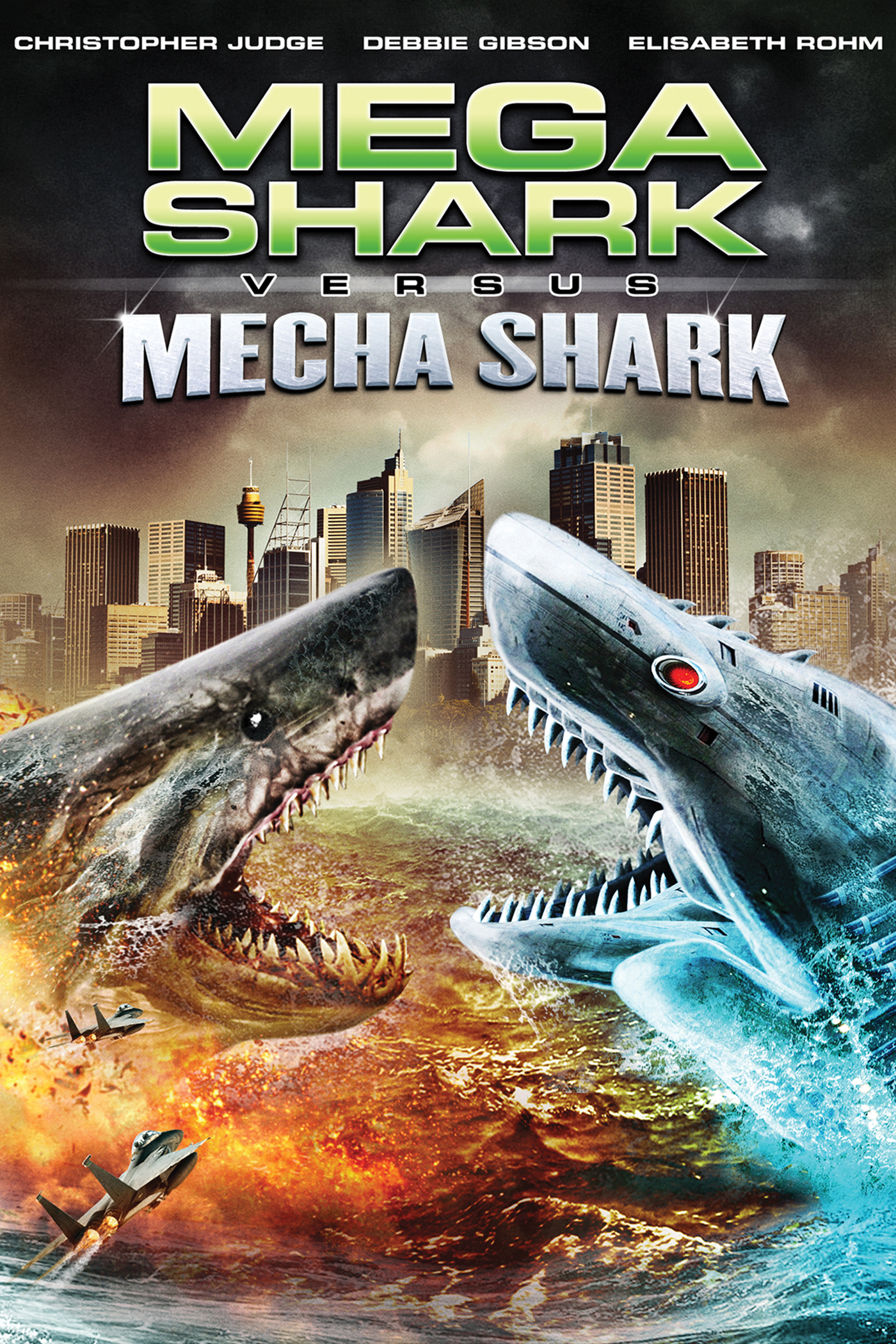 Mega Shark vs Mecha Shark (2014) | Creature Feature Corner