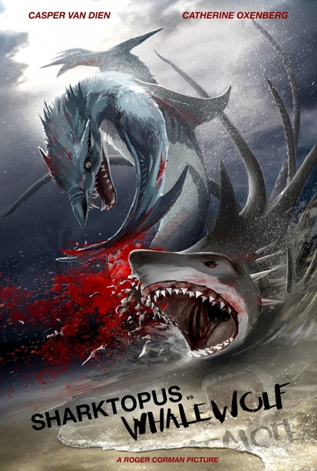 Sharktopus Vs Whalewolf (2015) | Creature Feature Corner