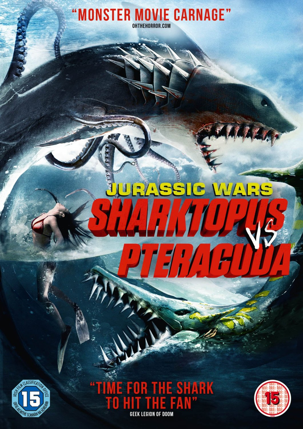 Competition – Sharktopus vs Pteracuda DVD Giveaway ...